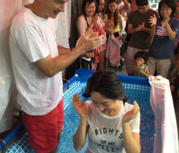 Baptisms 洗礼 2015-08-30